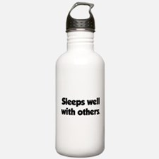 Sleeps well with others Water Bottle