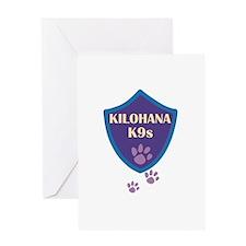 Kilohana K9s Logo Greeting Card