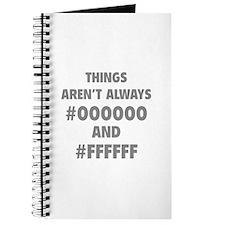 Things aren't always Journal