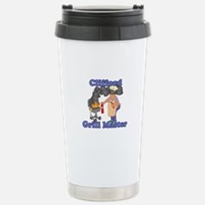 Grill Master Clifford Stainless Steel Travel Mug