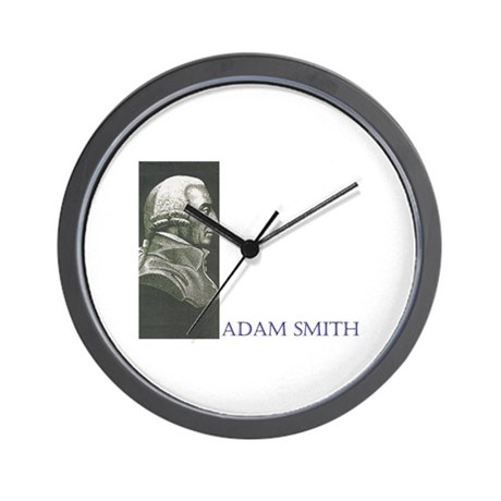 Adam Smith Wall Clock
