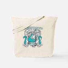 Remission Cervical Cancer Tote Bag