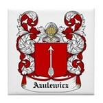 Azulewicz Coat of Arms Tile Coaster
