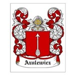 Azulewicz Coat of Arms Small Poster