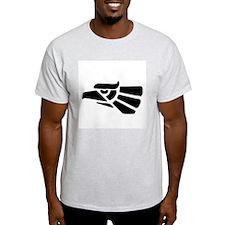 Mexican Eagle Ash Grey T-Shirt