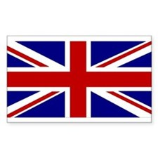 Union Jack Flag Rectangle Decal