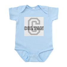 Colton (Big Letter) Infant Creeper