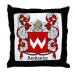 Awdaniec Coat of Arms Throw Pillow