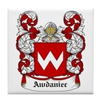 Awdaniec Coat of Arms Tile Coaster