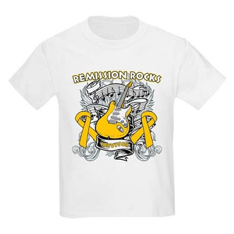 Remission Childhood Cancer Kids Light T-Shirt