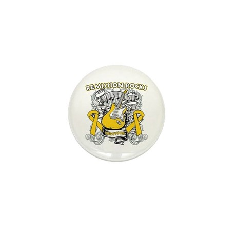 Remission Childhood Cancer Mini Button (10 pack)