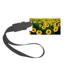 Field of Sunflowers Luggage Tag