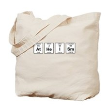Atheism Element Symbols Tote Bag