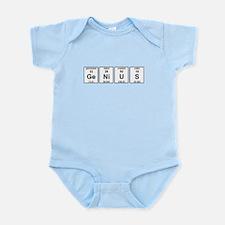 Genius Element Symbols Infant Bodysuit
