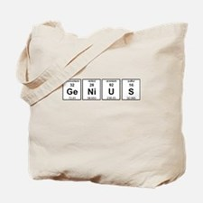 Genius Element Symbols Tote Bag