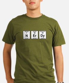 Nerdy Element Symbols T-Shirt