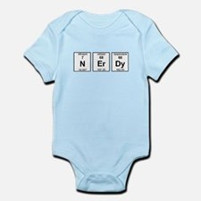 Nerdy Element Symbols Infant Bodysuit