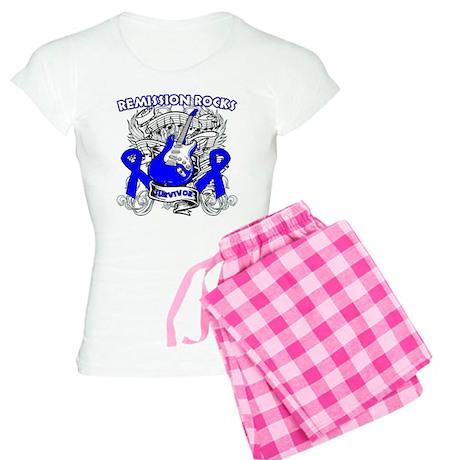 Remission Colon Cancer Women's Light Pajamas