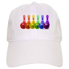 Rainbowling Baseball Cap