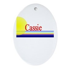 Cassie Oval Ornament