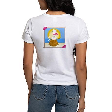 Hula Kitty Women's T-Shirt