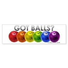 Got Balls? Bumper Sticker
