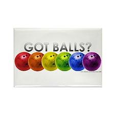 Got Balls? Rectangle Magnet