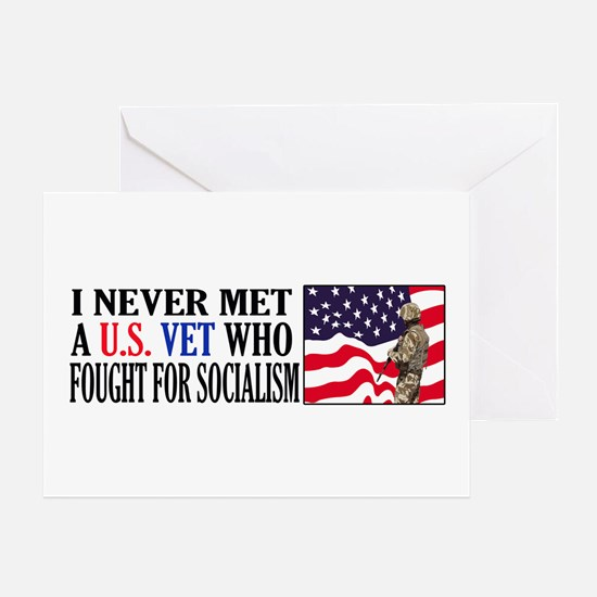 I Never Met A US Vet Who Fought For Socialism Gree