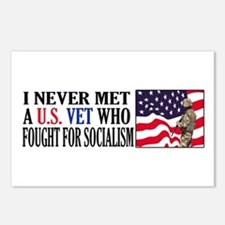 I Never Met A US Vet Who Fought For Socialism Post