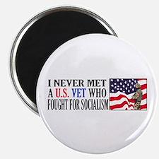I Never Met A US Vet Who Fought For Socialism Magn