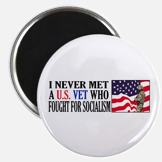 I Never Met A US Vet Who Fought For Socialism Magn