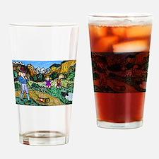 Alpen Dance Drinking Glass