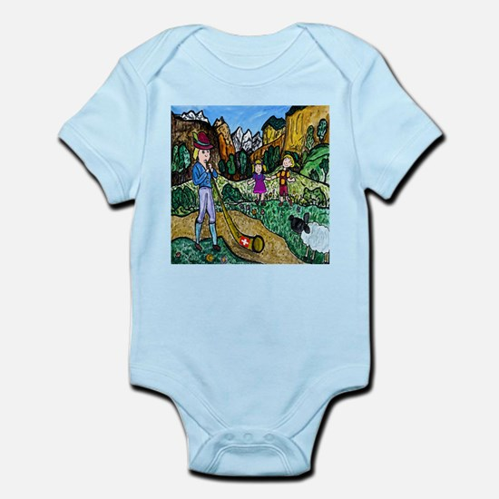 Alpen Dance Infant Bodysuit
