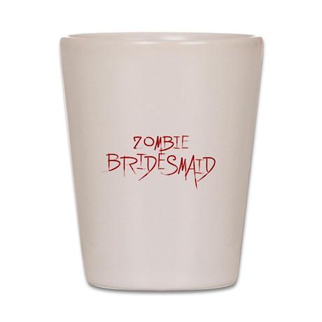 Zombie Bridesmaid Shot Glass
