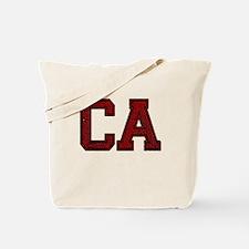 CA, Vintage Tote Bag