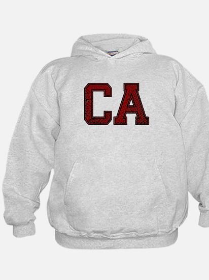 CA, Vintage Hoodie