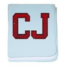 CJ, Vintage baby blanket