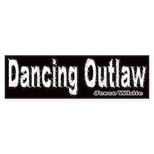 Dancing Outlaw Bumper Bumper Sticker