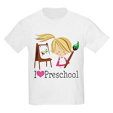 I Heart Preschool T-Shirt