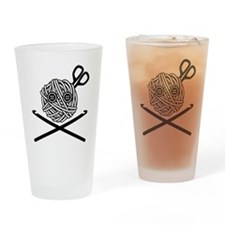 Pirate Crochet Drinking Glass