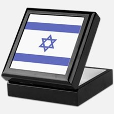 Israeli Flag Keepsake Box