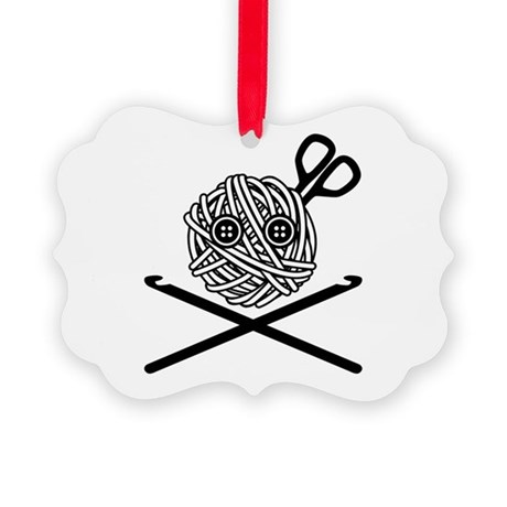 Pirate Crochet Picture Ornament