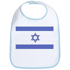 Israeli Flag Bib