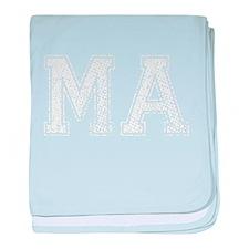 MA, Vintage baby blanket