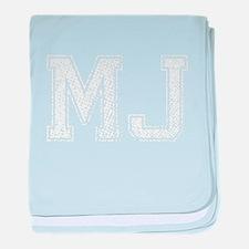 MJ, Vintage baby blanket