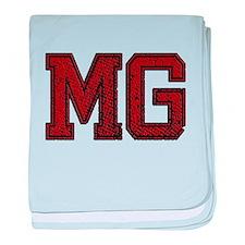 MG, Vintage baby blanket