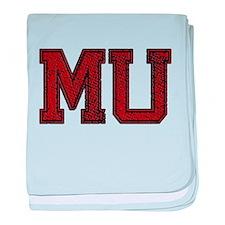 MU, Vintage baby blanket