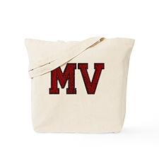 MV, Vintage Tote Bag