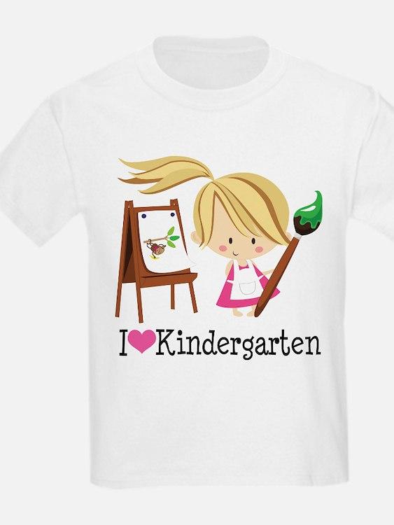 I Heart Kindergarten T-Shirt