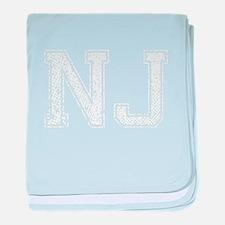 NJ, Vintage baby blanket